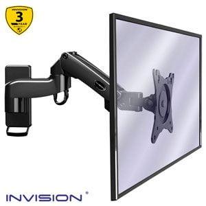 """Invision Soporte de Pared MX250 17-27"""" 1 brazo"""