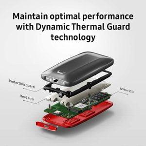 Samsung MU-PB1T0B Externo SSD 1TB USB 3 Tipo C