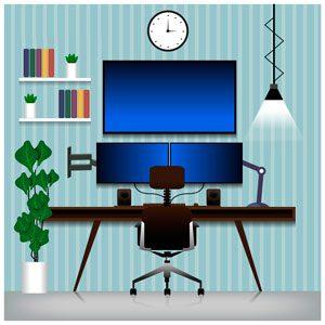 Soportes para pantallas de TV u ordenador