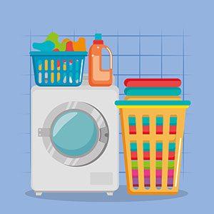 Dibujo lavadora