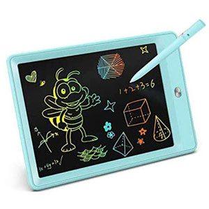 TEKFUN Tablet para niños y niñas de Escritura y Dibujo LCD de 10