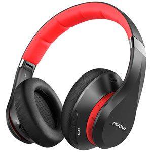 Auriculares Inalámbricos Bluetooth Mpow 059 Plus Diadema con Cancelación de Ruido y Micrófono para Móvil/PC/TV