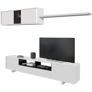 Habitdesign Mueble TV Mueble de salón 0Z6682BO