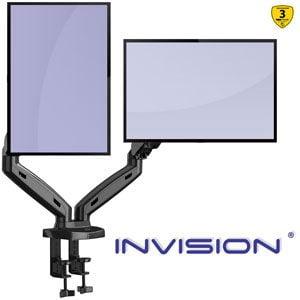 Invision Soporte Monitor MX300 17-27 doble brazo