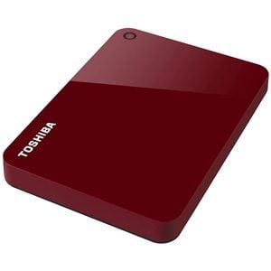 Toshiba Canvio Advance Disco Duro Externo 2.5 USB 3.0 1 TB Rojo