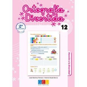 Cuaderno Ejercicios Ortografía divertida 12 4º Primaria GEU
