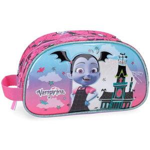 Estuche Disney Vampirina Neceser Adaptable Morado 24x14x10cm Poliéster