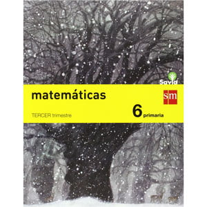 Matemáticas 6º Primaria Trimestral Pack de 3 libros 9788467575675 SM
