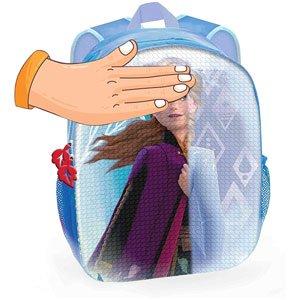 Mochila Disney Frozen Elsa y Ana con Dos Imágenes Lentejuelas Reversibles 30 cm Toybags